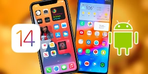Android comparison to iOS14